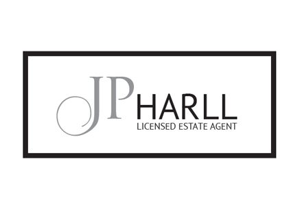 JP Harll Estate agent for York and Selby, logo design
