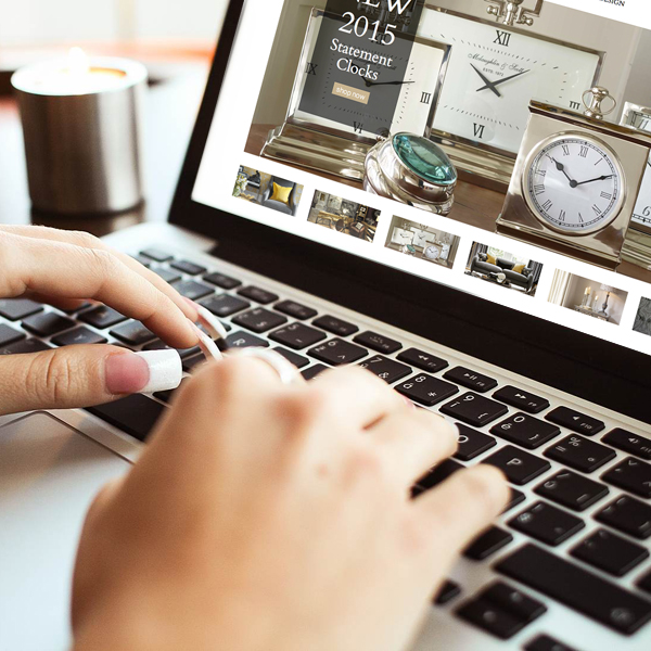 ecommerce website design for online furniture store in york