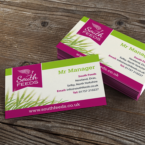 stationery and business card design for new businesses yorkshire